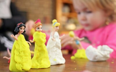 Poppenmoeders en kleine prinsessen