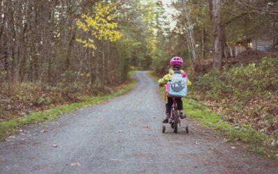Als kleine meisjes willen fietsen…